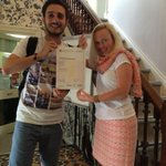Congratulations to Semih from #Turkey who passed his #CambridgeEnglish #PET exam with #IH #Bristol http://t.co/8yaZSLvIJW
