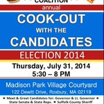 RT @MassVOTE: Next Thursday July 31 at 5:30pm. RSVP to come out to enjoy some free food and interact with the candidates. #MAPoli http://t.co/64sLbCq7Ji