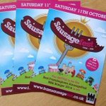 RT @SausageFestFram: Our leaflets are OUT! Look for them in #Framlingham #Suffolk #excited #sausages #fun http://t.co/FyZ5LF0lns