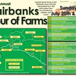 RT @DNRAlaskaGrown: If you live in Fairbanks, check out the Fairbanks Tour of Farms this Sunday, July 27th http://t.co/u3IOIRqE3F