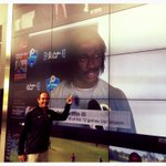 Mentor watching pupil on big screen at ESPN headquarters. @rgiii @CoachArtBriles #BeTheStandard http://t.co/VAb85qc8gw