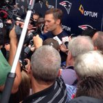"Brady on Gronk being out there ""When you have guys like that out there, your margin for error goes up."" http://t.co/XDucxaeI4A"