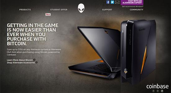 The @Alienware promotion mentioned in our bitcoin announcement is now live! More info: #BTC