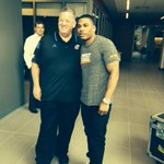 Charlie Weis & Nelly discuss college football and rapping http://t.co/O2XhtLYaPN