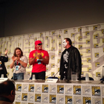 RT @WWEUniverse: You want a major surprise? @Sting has descended upon #SDCC! #WWE http://t.co/9Tm6Wa84iy