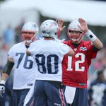 Tom Brady, Rob Gronkowski, Darrelle Revis & More. See photos from day one of #PatsCamp | http://t.co/DgQb2icisc http://t.co/kDX2bdAPpz