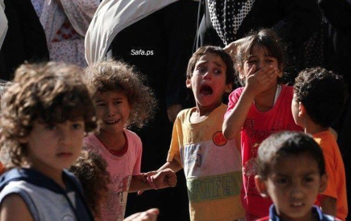 Too young to understand the concept of death, but in #Gaza, never too young to see it unfold in front of your eyes. http://t.co/Er8sSy2s3I