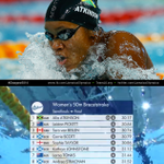 RT @JamaicaOlympics: Jamaican Alia Atkinson breaks record again in 50M Breaststroke semi-final with a time of 30.17 #CommonwealthGames http://t.co/KnxdcVAxIo