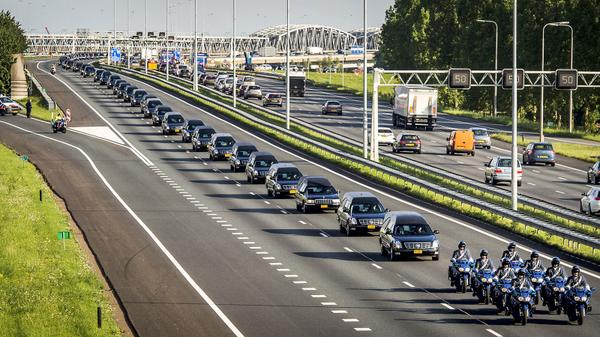 Powerful image: Procession of 74 hearses in the Netherlands today with the remains of MH17 victims http://t.co/DqmdK2GnYX (via RTL)