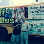 RT @donsergent: Come on down to the buses on Campbell Lane and help @tonyroseshow stuff em with school supplies. #stb http://t.co/NK2nB7H2pm