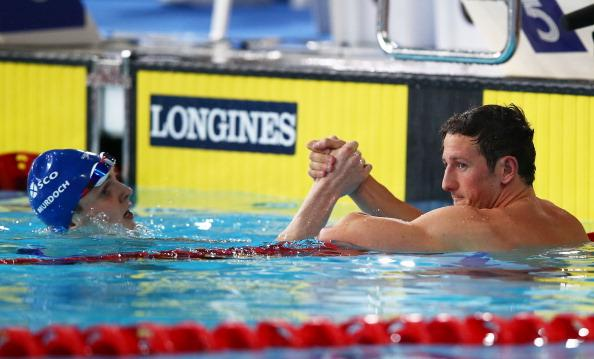 Scotland's Michael Jamieson and Ross Murdoch are in the #Glasgow2014 200m breaststroke final now on @BBCOne http://t.co/Qt7l40LPVo