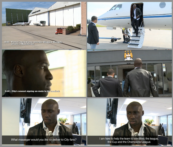 BtVplFDIcAAEjzP Man City leak footage of Eliaquim Mangala signing for the club, remove it, but it still exists [Video]