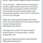 RT @HazwanArif: Azizulhasni Awang disiasat badan Komanwel? #WeSupportAzizulhasni #ThePocketRocketMan #CommonwealthGames #PrayForGaza http://t.co/VwK77UiiFo