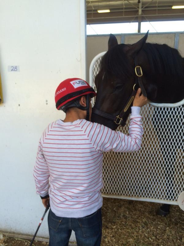 Rafa Bejarano came by to pay his respects to Dance with Fate...very classy gesture. #teameurton #RIPDance http://t.co/VBpv5bffkV