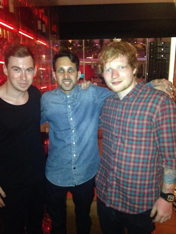 @Dynamomagician your not human thanks for having us good times with @edsheeran @HARDWELL http://t.co/9TU0il2MZN