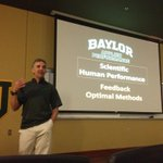 Great few days of information sharing by John Underwood @BaylorAthletics @BUFootball @BU_Iron_Bear @BU_feedthebears http://t.co/KIfkEmN6np