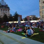 RT @jlockwoodTT: Another beautiful night for movies on courthouse lawn in #Scranton http://t.co/VMhCfiNSW1