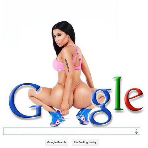 """""""Only time you on the net is when you google my ass """" - @NICKIMINAJ http://t.co/dNbWGlK7jJ"""