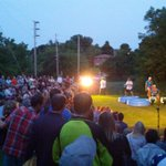 Great crowd at #duskdancesptbo See you tomorrow and all weekend @Magic967fm @pktourism @kawarthaNOW http://t.co/CyusmOibDF