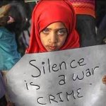 RT @DrBasselAbuward: Silence is a war crime Help us spread the truth #GazaUnderAttack #PrayForGaza #Gaza #ISupportGaza #terroistisrael http://t.co/RcBbctL6Lr