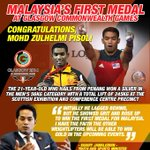 Malaysia first medal at the #Glasgow2014. Congrats. YB @khairykj confident others will win gold too. http://t.co/GBndZ3PNrj @MsiaChronicle