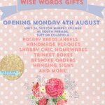 RT @wisewordsgifts: We are super excited to announce we are launching Wise Words in Sutton Coldfield on 4th August!???? http://t.co/4Xf2s2zyVr