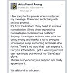 "RT @saifuddinabd: ""@AzizulAWANG: Read my comment on Facebook Fanpage Azizulhasni Awang http://t.co/aEhZDN3480"" u r our hero bro! Good luck in d race! RT"