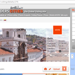 """@Quitoblues1: Apoyando a @QuitoTurismo en la elección de #Quito finalista #new7wonderscities http://t.co/aLYOOFMXMa"""