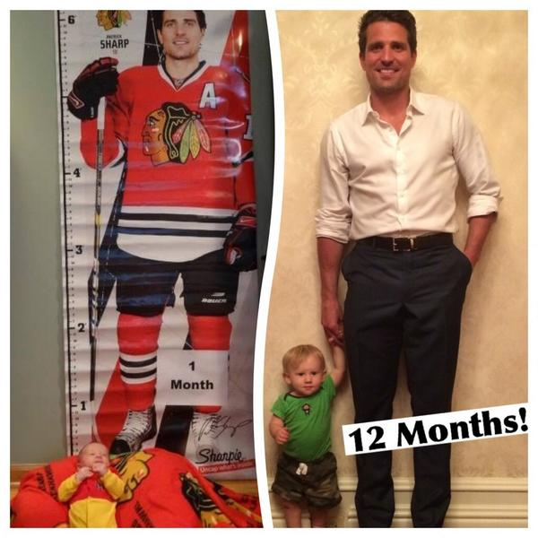 Thanks to @10PSharp for a memorable first and 12-month photo to celebrate my son Cameron's birthday! http://t.co/FKDdwiDs3P