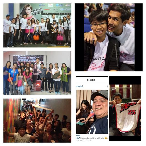 These guys love @JustSarahG too..im the president tho