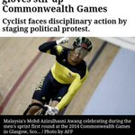 "RT @saifuddinabd: ""@Zuhri: We are behind you @AzizulAWANG . Proud to be Malaysian! #SupportAzizul #FreeGaza #MalaysiaBoleh http://t.co/d0YrPbIzq9"" RT"