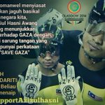 RT @UtaraNews: Whats the problem being solidarity with palestine #CommonwealthGames #weSupportAzizulHasni @AzizulAWANG @Khairykj http://t.co/KnjZSCeWYS