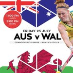 Tune in at 11pm tonight for the Roovolution as The Hockeyroos take on Wales @Hockeyroos @tensporttv #glasgow2014 http://t.co/gQ4XFdTqCR
