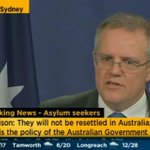 Getting tense in the room. Morrison: They wont be resettled, we still win. http://t.co/3bcPRv89xp