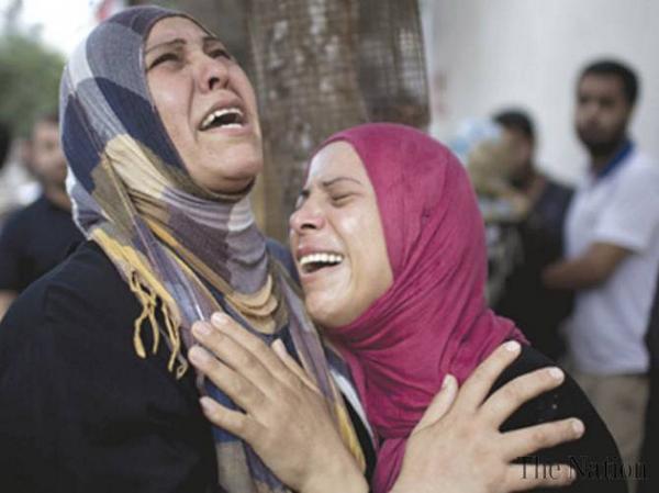 حماس اور اسرائیل کے درمیان 12 گھنٹے کی فائر بندی،شہادتوں کی تعداد 1000ہو گئی