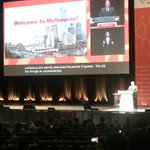RT @MelbConventions: .@LordMayorMelb: a memorable week for #Melbourne with the commitment to preventing infection palpable #AIDS2014 http://t.co/JR1b1eKGEn