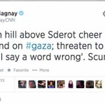 Diana Magnay stood down by CNN after twt Israel ppl cheering Gaza bombing scum#auspol https://t.co/NVhSCg5mDc http://t.co/2K4m8GXVOV