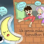 we will miss you #Ramadan . http://t.co/YaGR2764h6