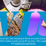 #WIN a family ticket to see @ShrekUKTour worth £120. Follow @Leeds_List & RT to enter. #Leeds http://t.co/a96IhWhLPx
