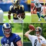 Good luck to our former Bearcats as the Dolphins, Rams, and Steelers start training camp today! #Bearcats #NFL http://t.co/hWoy7wp6uF