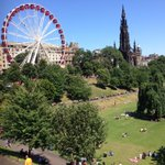 RT @travelworkshop: Nowhere more lovely than Princes St Gardens #Edinburgh on a sunny day http://t.co/mErddrwGDG