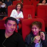 """@bigbadbawang: Bday Girl @JustSarahG at TVK rehearsals w/ the very ganado-looking @luckymanzano & @Mscathygonzaga http://t.co/42i5RWv8NX"""