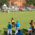 : @TeamMsia at lawn bowls this morning. Roaring @malaysianheroes! http://t.co/mmnm5HTQAi