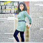 "RT @palakmuchhal3: ""I OWE A GREAT DEAL OF MY SUCCESS TO @BeingSalmanKhan Sir"" #BombayTimes #TimesOfIndia #JummeKiRaat #Kick http://t.co/dBCLPn1Tbz"