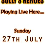 SULLYS HEROES playing live this Sunday from 4pm #band #livemusic #sundaynightrock #Huddersfield #Yorkshire @iLoveHD_ http://t.co/mrdcNAaFcW