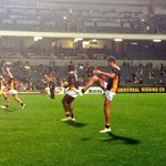 RT @WestCoastEagles: The big man gets ready. #KingCox http://t.co/95bDRb5r8e