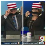 RT @MarioWCPO: Who wore it better on #GMTS? @RivaWCPO or @NeroWCPO Horizontal stripes are so in this morning. @WCPO @Reds http://t.co/LKMbTJlN6Q