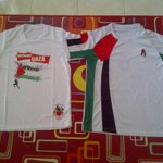 RT @warwz: My Palestine jersy collection. #ISupportGaza #IStandWithPalestine #Palestine #PrayForGaza #Intifada2014 http://t.co/n6XOcXKx5f