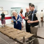 RT @TWBC_Museum: Opening of Back to Blighty exhibition - @Mayor_TWBC looking at our St John Ambulance stretcher http://t.co/PmZgqKR734