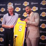 RT @LakersNation: RT @SerenaWinters: Lakers welcome Carlos Boozer http://t.co/cPZgEqEwvb